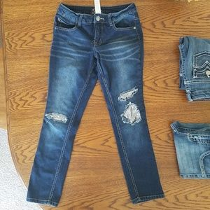 Justice Sequined Jeans